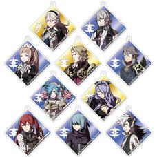 D4 Series Fire Emblem Fates Acrylic Strap Collection Vol. 2 Box