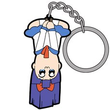 Pop Team Epic Upside Down Pipimi Tsumamare Keychain