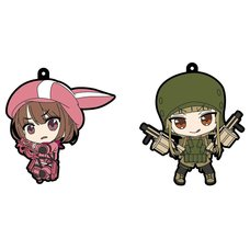 Sword Art Online Alternative: Gun Gale Online Rubber Straps