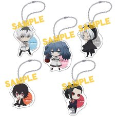 Tokyo Ghoul:re Chibi Acrylic Keychain Collection