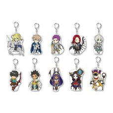 Pikuriru! Fate/Grand Order Trading Acrylic Keychain Charms Vol. 6 Box Set