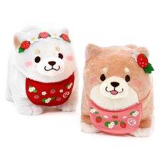 Chuken Mochi Shiba Strawberry Standing Plush Collection (Big)