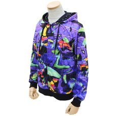 Evangelion Unit-01 Full Graphic Light Hoodie
