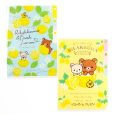 A Basketful of Lemons Rilakkuma Mini Index Folder