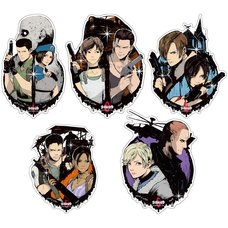 Capcom x B-Side Label Resident Evil Sticker Collection