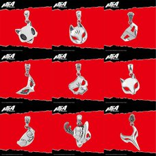 Persona 5 the Animation Mask Pendant Charm Collection