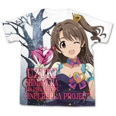 The Idolm@ster Cinderella Girls My First Star!! Uzuki Shimamura Graphic T-Shirt