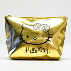 Hello Kitty Wink Gold Pouch