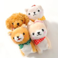 Mameshiba San Kyodai Homestay Dog Plush Collection (Ball Chain)