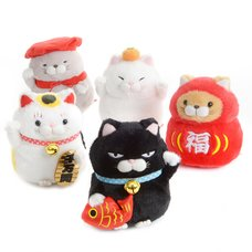 Hige Manjyu Maneki-neko Cat Plush Collection Vol. 2 (Standard)