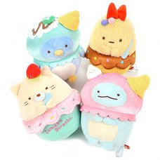 Sumikko Gurashi Ice Cream Delivery Overseas Limited Ver. Plush Collection