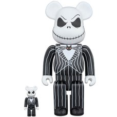 BE@RBRICK The Nightmare Before Christmas Jack Skellington 100% & 400%