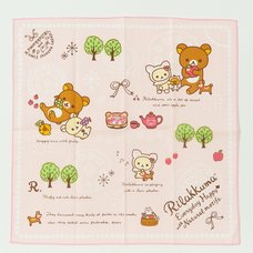 Rilakkuma Reusable Napkin (Happy Natural Time)