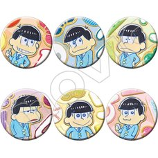 Osomatsu-san Character Badge Collection Box Set