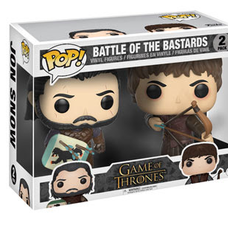 Pop! Game of Thrones: Battle of the Bastards - Jon Snow & Ramsay Bolton 2-Pack