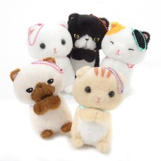 Onedari Munchkin Cat Plush Collection (Ball Chain)
