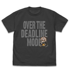 Kantai Collection -KanColle- Akigumo Super Tough Times Mode Black T-Shirt