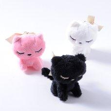 Osumashi Pooh-chan Plush Keychains