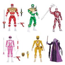 Mighty Morphin Power Rangers Legacy 5-Inch Action Figure Wave 2 Case