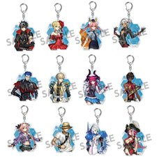 Fate/Extella Link Acrylic Keychain Collection Vol. 2-1