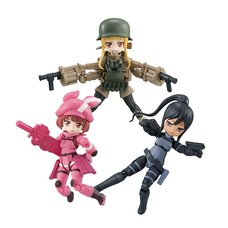 Desktop Army Sword Art Online Alternative: Gun Gale Online Box Set