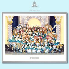 The Idolm@ster Cinderella Girls 4th Live: TriCastle Story -346 Castle- Framed Memorial Art Print