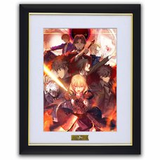 Fate/Zero Chara Fine Graph Art Print B: Red
