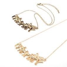 Osewaya Animals Antique Necklace
