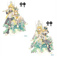 Kagamine Rin/Len 10th Anniversary Canvas Art Panel