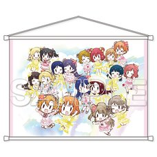 Love Live! General Magazine Vol. 1 Love Live! Series μ's &Aqours B2-Size Tapestry