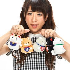 Hige Manjyu Manekineko Cat Plush Collection (Ball Chain)
