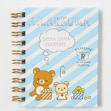 Rilakkuma Wirebound Notebook