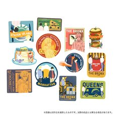 Banana Fish NYC Sticker Set