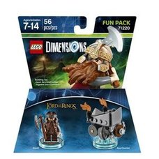 LEGO Dimensions LOTR Gimli Fun Pack