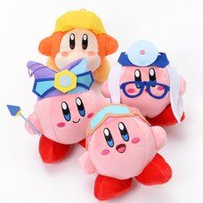 Kirby: Planet Robobot Mini Plush Collection