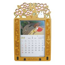 My Neighbor Totoro 2018 Stained Frame Calendar