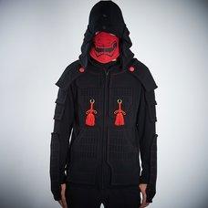 Samurai Armor Hoodie Set <Black>