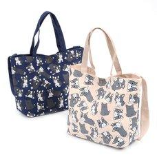 FLAPPER Goro Goro Buburin Tote Bag