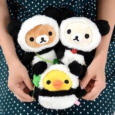 Rilakkuma Panda de Goron Collectable Plush Collection