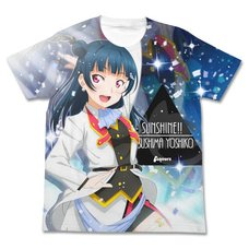 Love Live! Sunshine!! Yoshiko Tsushima Mirai Ticket Ver. White Graphic T-Shirt