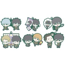 Buddy Colle Gintama Hijikata Special Ver. Trading Rubber Straps Box Set