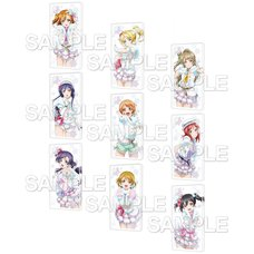 CharaClear Love Live! Snow Halation Acrylic Keychain Collection