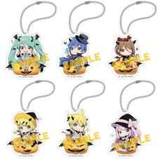 Vocaloid Series Halloween Acrylic Keychain Collection