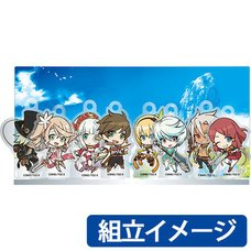 Tales of Zestiria the X Chibi Character Acrylic Stand Set