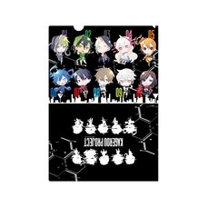 Kagerou Project Chibi Ver. Color Illustration A4 Clear File