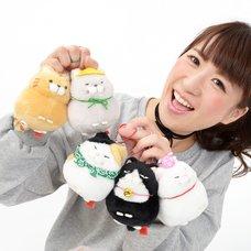 Hige Manjyu Tabi Cat Plush Collection (Ball Chain)