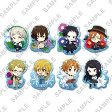 Bungo Stray Dogs Natsu no Hana Clear Clip Badge Box Set