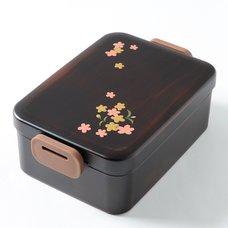 Sakura Komachi Maki-e Printed Bento Box