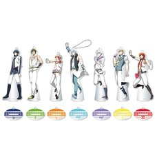 IDOLiSH 7 Acrylic Stand Keychain Charm Collection