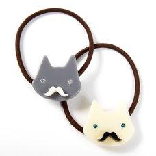 Osewaya Mustache Cat Hair Tie